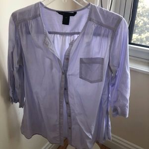 Marc Jacobs lightweight lilac blouse, 10
